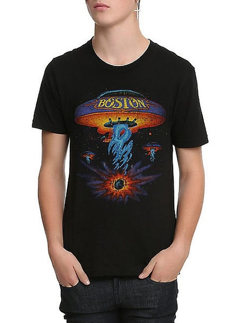 Boston - Classic Spaceship T-Shirt