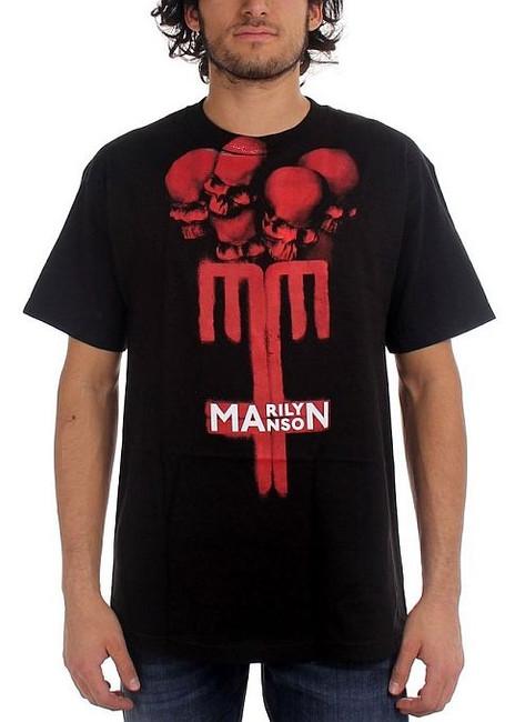 Marilyn Manson - Skull Cross T-Shirt