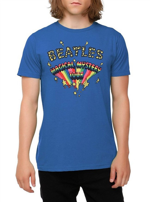 The Beatles Magical Mystery Tour Stars Logo T-Shirt