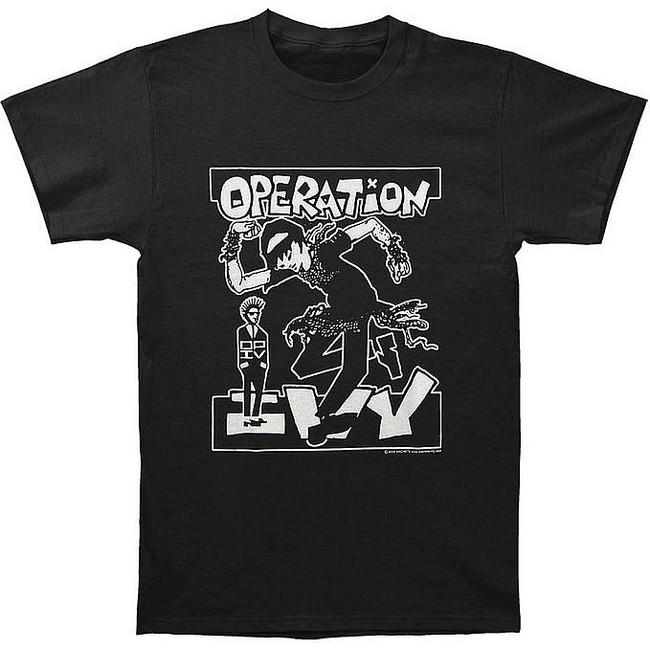 Operation Ivy Skankin Black T-Shirt