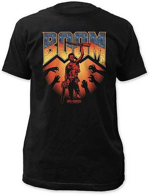 Army of Darkness Boom Fitted T-Shirt