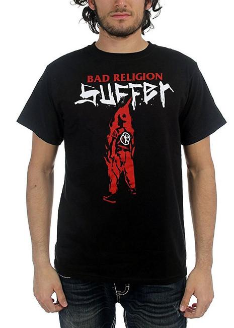 Bad Religion Suffer Men's Black T-Shirt
