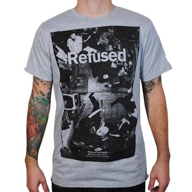 Refused Live Photo Grey T-Shirt