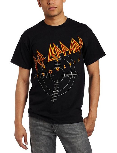 Def Leppard Pyromania On Target T-Shirt
