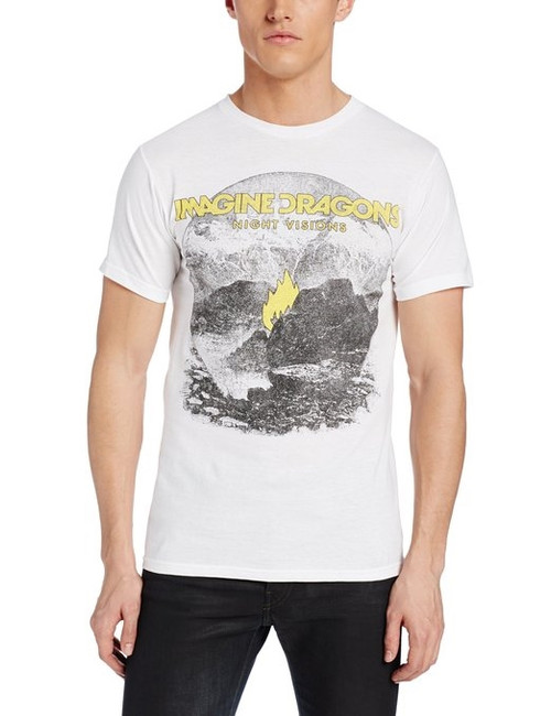 Imagine Dragons Flame White T-Shirt