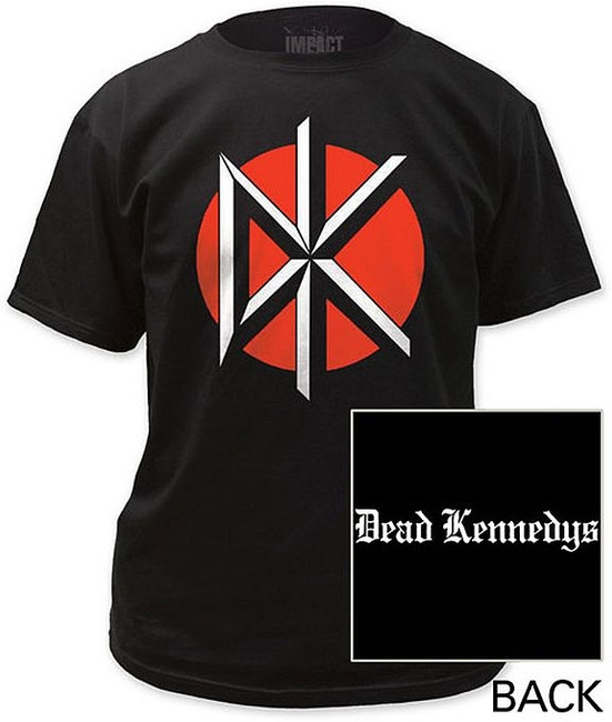Dead Kennedys Logo With Back Print T-Shirt