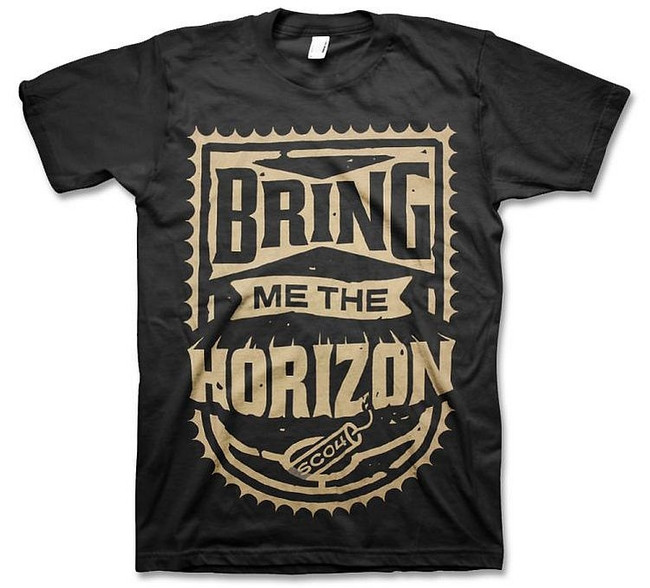 Bring Me The Horizon Dynamite Shield T-Shirt