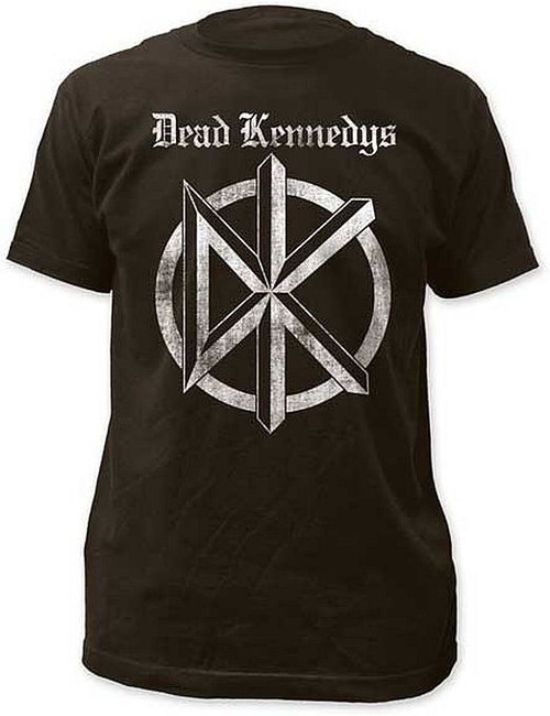 Dead Kennedys Old English Logo Fitted T-Shirt