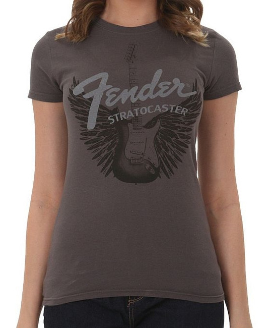 Fender Guitars Strat Wings Junior Women's T-Shirt