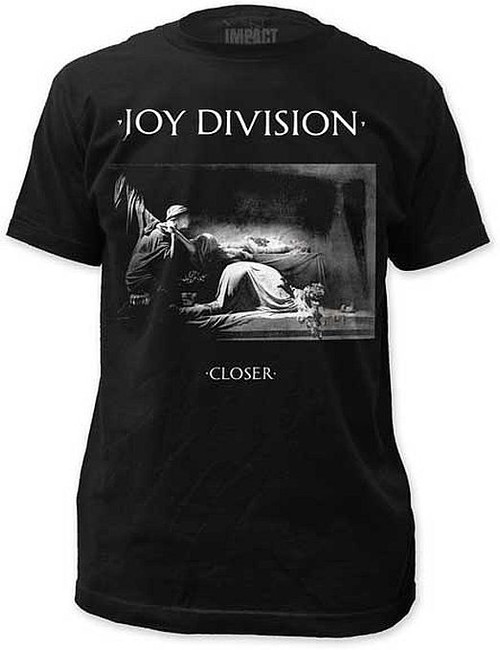 Joy Division Closer Fitted T-Shirt