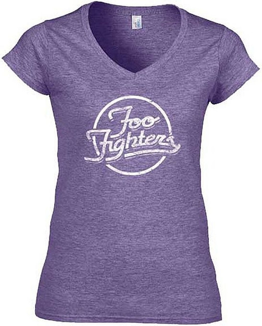 Foo Fighters Rings Junior Women's T-Shirt