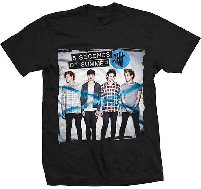 5 Seconds of Summer Album 11 30/1 T-Shirt