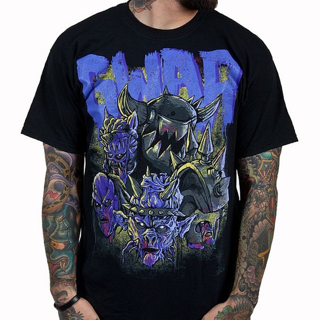 Gwar - Destroyers Black With Purple T-Shirt