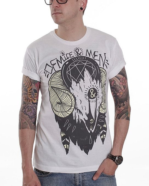 Of Mice and Men Ram Skull T-Shirt