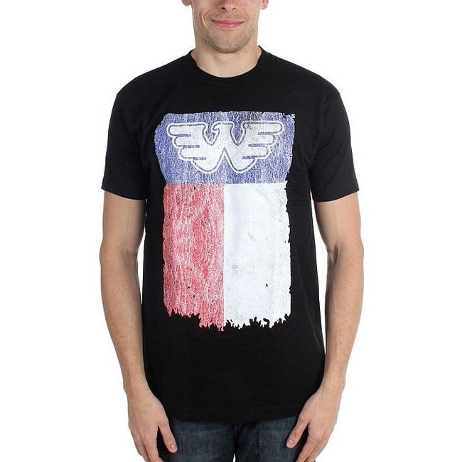 Waylon Jennings Texas Flag T-Shirt