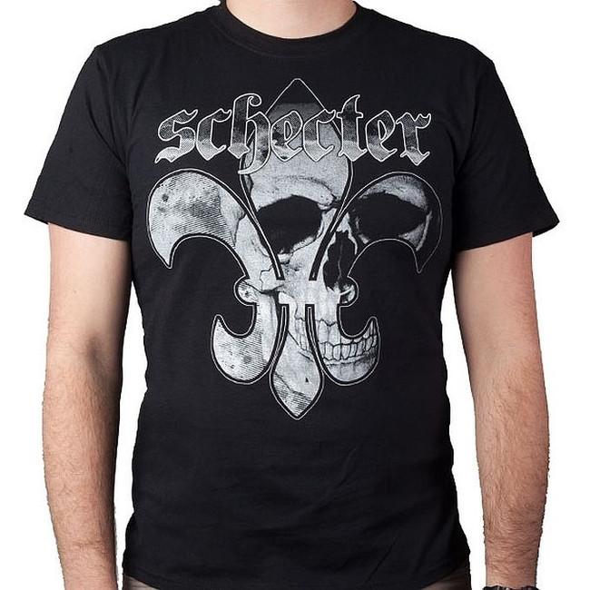 Schecter Guitars Fluer De Skull T-Shirt