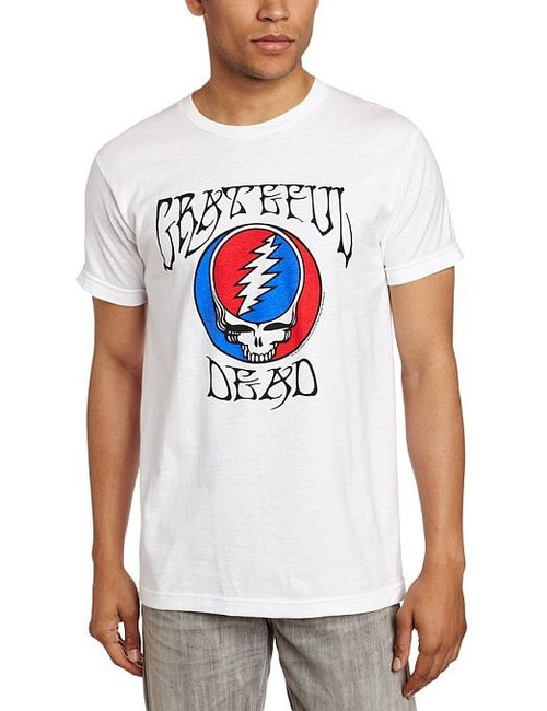 Grateful Dead Logo Steal Your Face Fitted T-Shirt