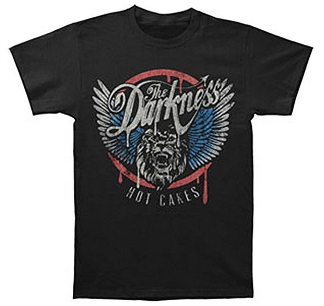 The Darkness Lion Men's Black T-Shirt