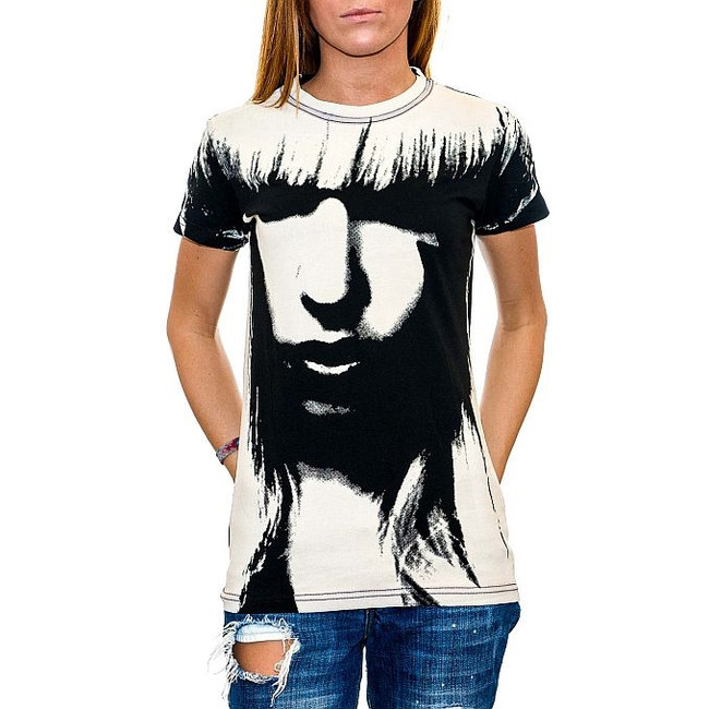 Lady Gaga - All Over Face Junior Women's T-Shirt