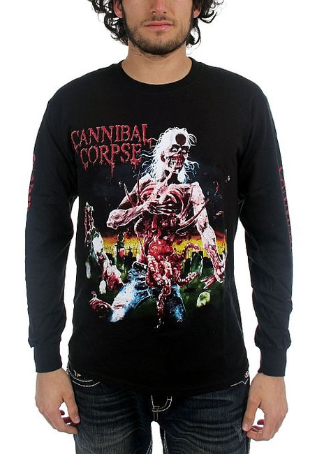 Cannibal Corpse - Eaten Back To Life Long Sleeve T-Shirt