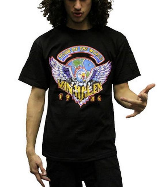 Van Halen - Tour of the World 1984 T-Shirt