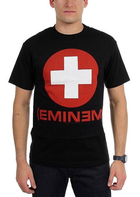 Eminem Recovery Black T-Shirt