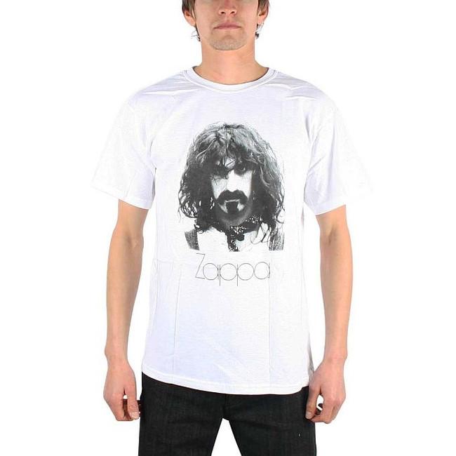 Frank Zappa White Portrait T-Shirt