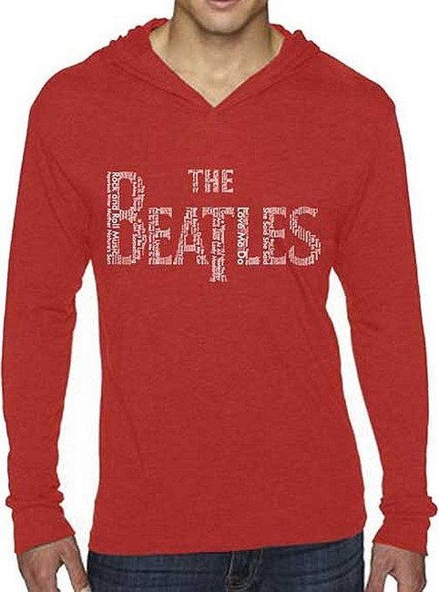 The Beatles Song Titles Logo Hoodie Sweatshirt