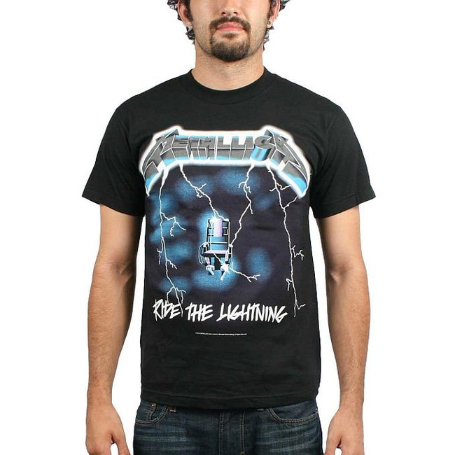 Metallica - Ride The Lightning T-Shirt