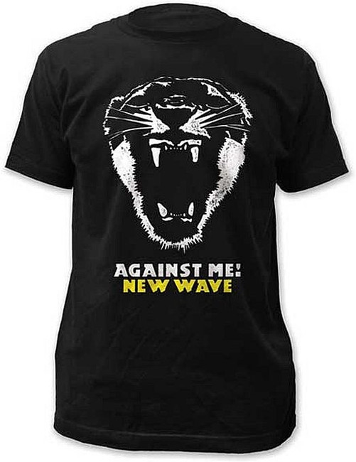 Against Me New Wave Slim Fit T-Shirt