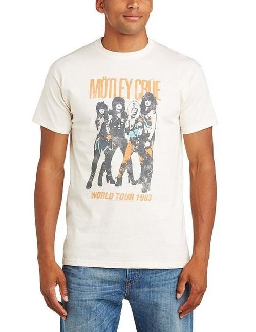 Motley Crue Vintage World Tour 1983 T-Shirt