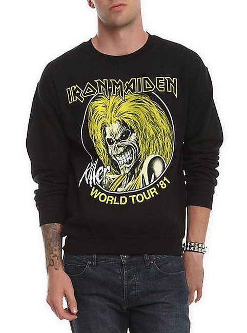 Iron Maiden Killer World Tour 81 Sweatshirt