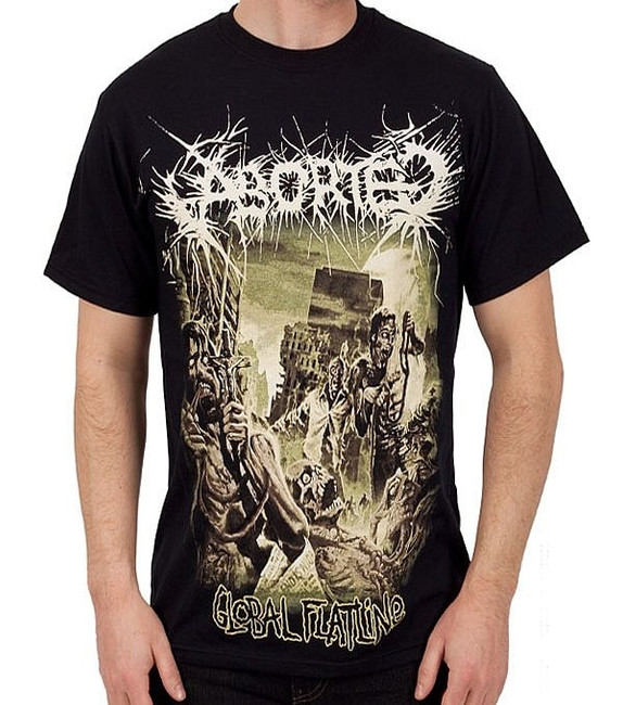 Aborted - Global Flatline T-Shirt