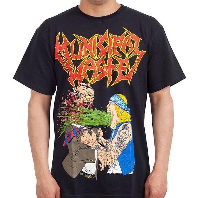 Municipal Waste - Barfing T-Shirt
