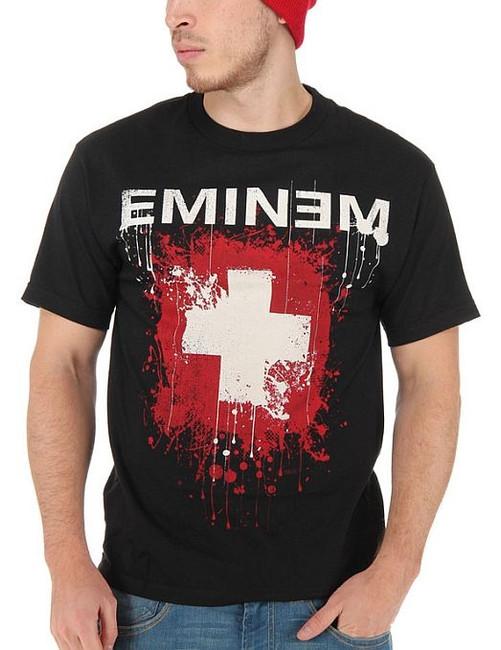 Eminem Splattered T-Shirt