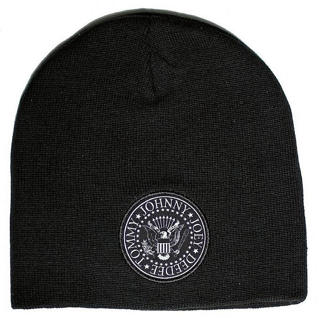 Ramones Presidential Seal Logo Double Sided Beanie Hat