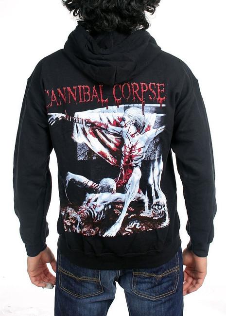 Cannibal Corpse Tomb of the Mutilated Zip Hoodie Sweatshirt