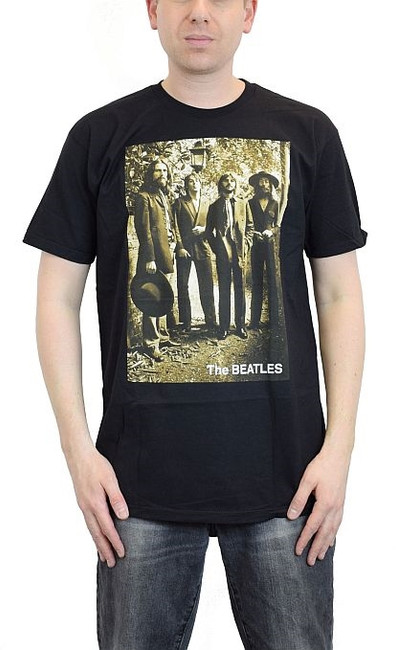 The Beatles Sepia 1969 Photo T-Shirt