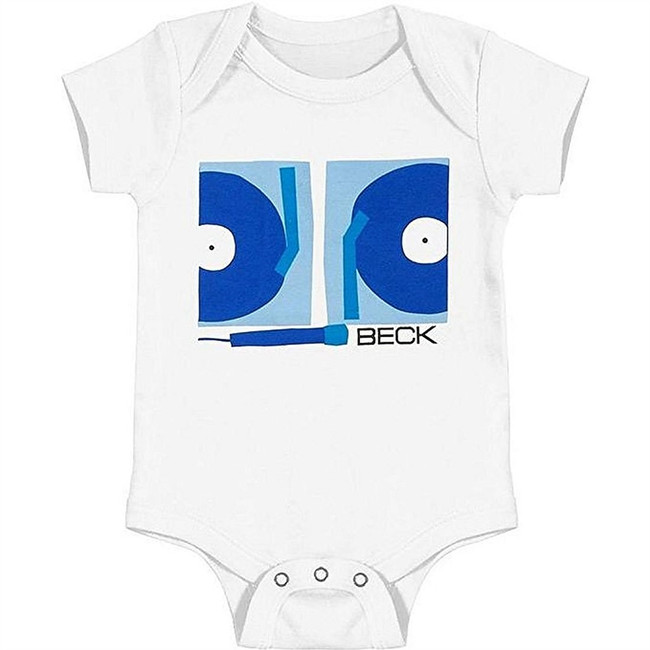 Beck Turntables White Infant Baby Romper T-Shirt