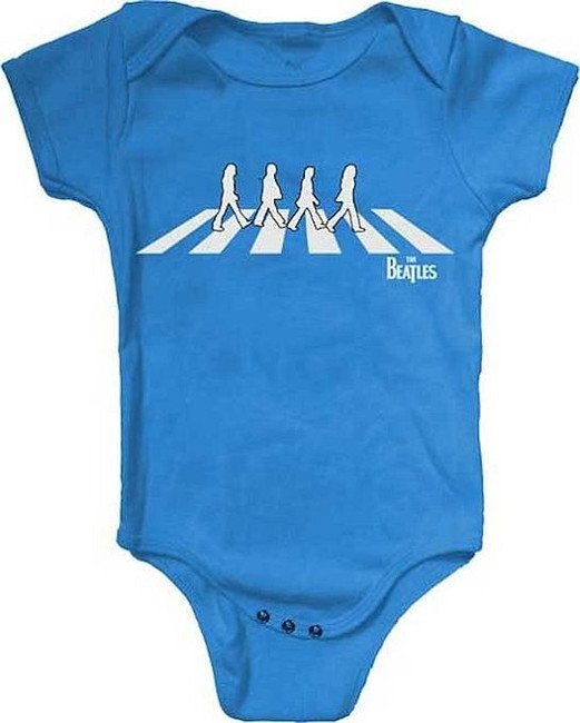 The Beatles Abbey Road Silhouette Baby Romper T-Shirt