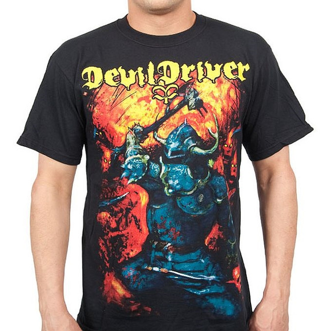 Devildriver Warrior T-Shirt