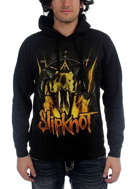 Slipknot Cattle Skull Hoodie Sweatshirt