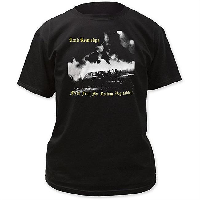Dead Kennedys Fresh Fruit Men's Black T-Shirt