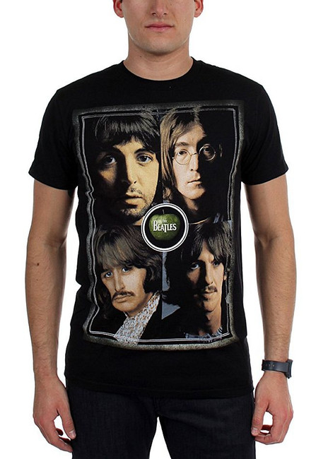 The Beatles Faces T-Shirt