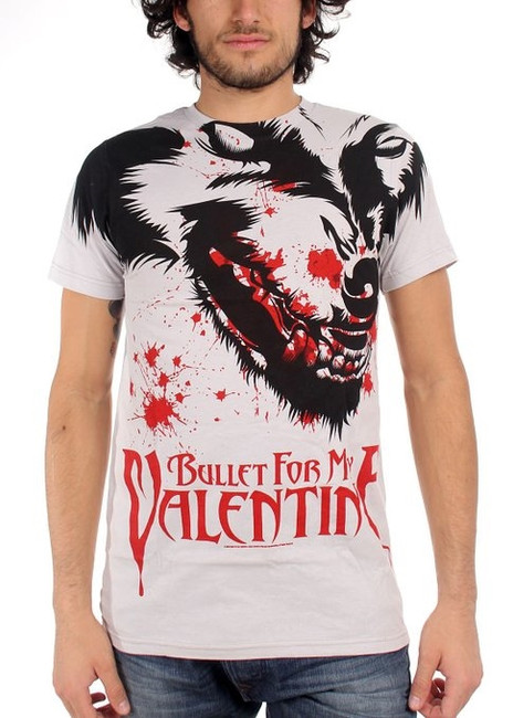 Bullet For My Valentine - Werewolf All Over 30/1 T-Shirt