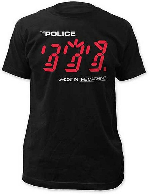 The Police Ghost In The Machine Fitted T-Shirt