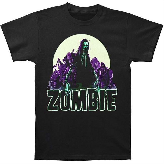 Rob Zombie and Company Men's Black T-Shirt