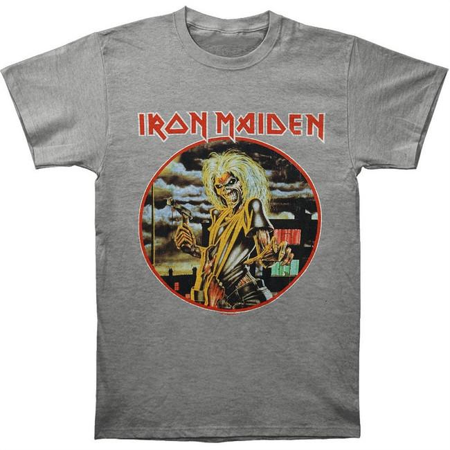 Iron Maiden Vintage Killers 30/1 Heather T-Shirt