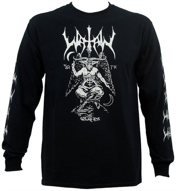 Watain Baphomet Long Sleeve T-Shirt