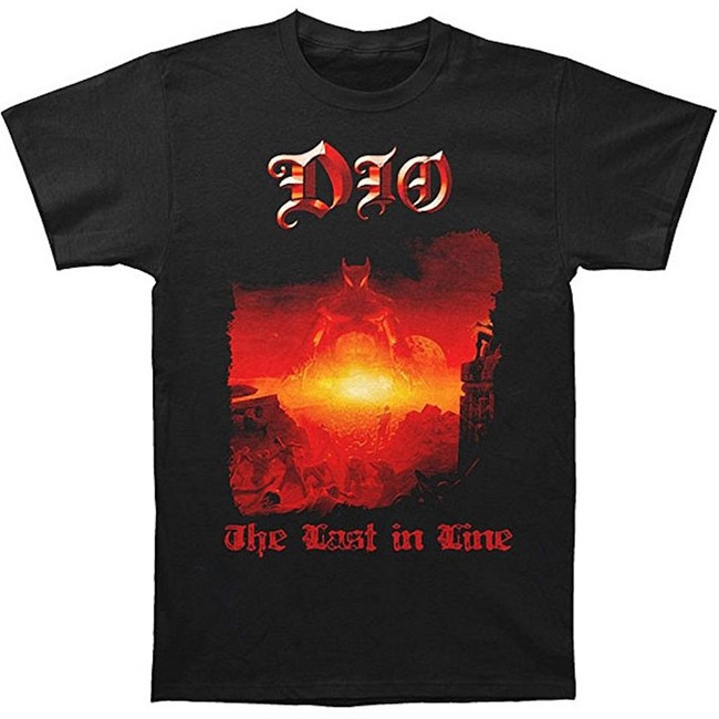 Dio The Last In Line Men's Black T-Shirt